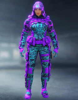 COD Mobile Character skin: Outrider - Cyberline - zilliongamer