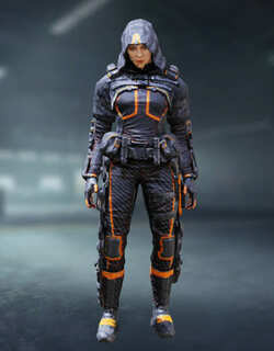 COD Mobile Character skin: Outrider - Going Dark - zilliongamer