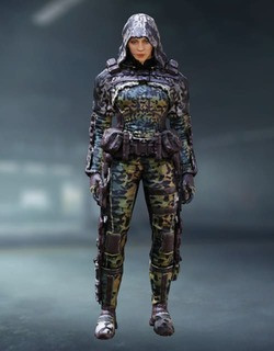 COD Mobile Character skin: Outrider Jungle Cat - zilliongamer