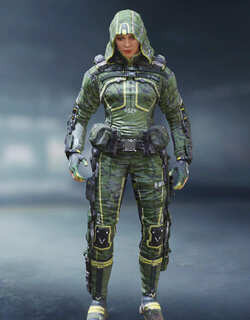 COD Mobile Character skin: Outrider - Jungle - zilliongamer