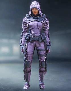 COD Mobile Character skin: Outrider - Purple Prism - zilliongamer