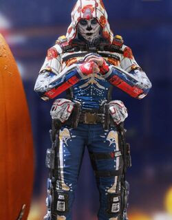COD Mobile character: Outrider - Skeleton