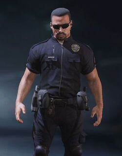 COD Mobile character: Police