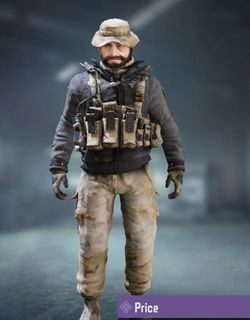 COD Mobile character: John Price