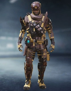 COD Mobile Character skin: Prophet - Desolate - zilliongamer