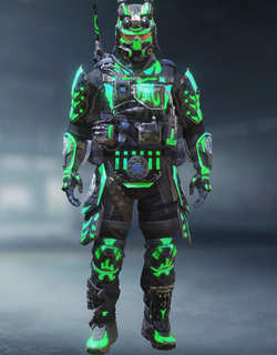 COD Mobile Character skin: Recon - Flickering Shadow - zilliongamer