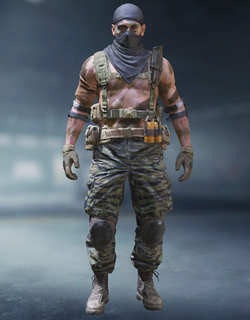 COD Mobile Character skin: Russian Merc - Forest - zilliongamer
