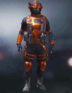 COD Mobile Character skin: Scout 2 - Fire Walker - zilliongamer