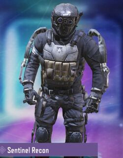 COD Mobile Character skin: Sentinel Recon - zilliongamer