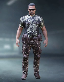 COD Mobile Character skin: Sheriff Adaptable - zilliongamer
