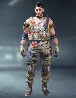 COD Mobile Character skin: Soap Jungle Ops - zilliongamer