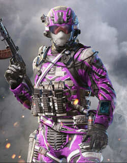 COD Mobile Character skin: Special Ops 1 Championship Charge - zilliongamer