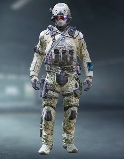 COD Mobile Character skin: Special Ops 1 - Fiber Mesh - zilliongamer