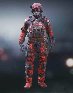 COD Mobile Character skin: Special Ops 1 - Sewed Snake - zilliongamer