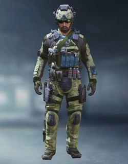 COD Mobile Character skin: Special Ops 2 - Copilot - zilliongamer