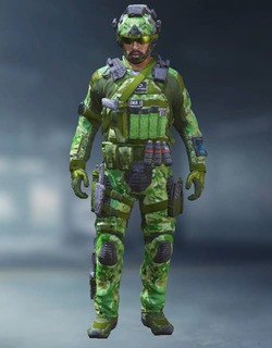 COD Mobile Character skin: Special Ops 2 - Green Terror - zilliongamer