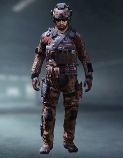 COD Mobile Character skin: Special Ops 2 - Sewed Leather - zilliongamer