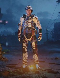 COD Mobile Character skin: Special Ops 3 - Arctic - zilliongamer