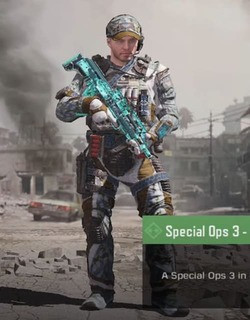 COD Mobile character: Special Ops 3 Malware - zilliongamer