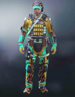 COD Mobile Character skin: Special Ops 3 - Static Electricity - zilliongamer