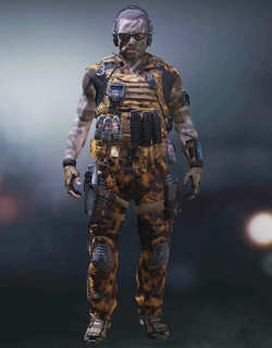 COD Mobile Character skin: Specail Ops 4 - Freight Train - zilliongamer