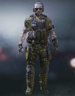 COD Mobile Character skin: Special Ops 4 - Obstacle - zilliongamer