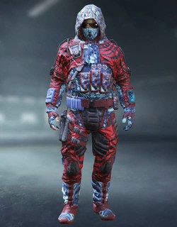 COD Mobile Character skin: Special Ops 5 - Dead Zebra - zilliongamer