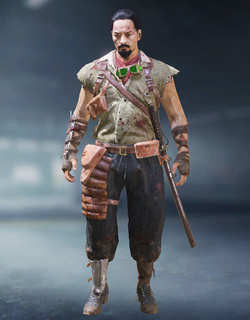 COD Mobile Character skin: Takeo - zilliongamer
