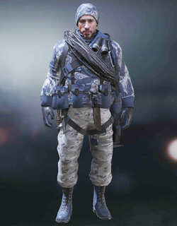 COD Mobile Character skin: Terrance Brooks - Deep Snow - zilliongamer