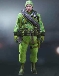COD Mobile Character skin: Terrance Brooks - Green Tiger - zilliongamer