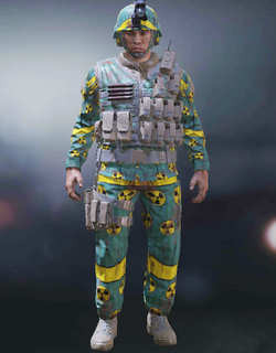 COD Mobile Character skin: Vasquez - Fission - zilliongamer