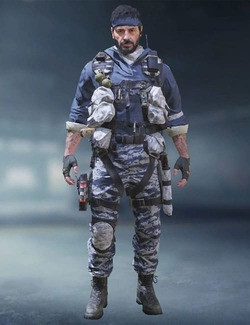 COD Mobile Character skin: Woods - Cold Snap - zilliongamer