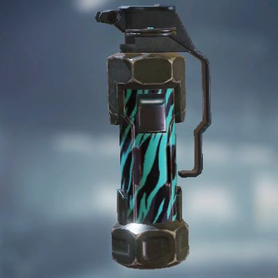 Neon Tiger Concussion Grenade skin in Call of Duty Mobile - zilliongamer