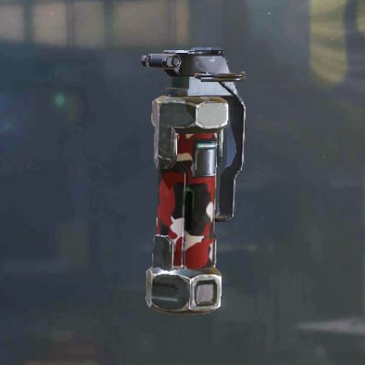 Red Concussion Grenade skin in Call of Duty Mobile - zilliongamer
