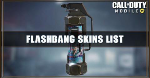 Flashbang Skins List