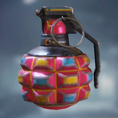 Frag Grenade Skin: Cotton Candy in Call of Duty Mobile - zilliongamer