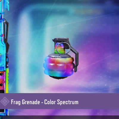 COD Mobile Frag Grenade: Color Spectrum - zilliongamer