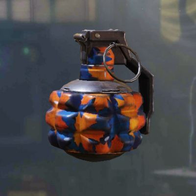 Frag Grenade Skin: Maple Leaves in Call of Duty Mobile - zilliongamer