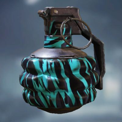 Frag Grenade Skin: Neon Tiger in Call of Duty Mobile - zilliongamer