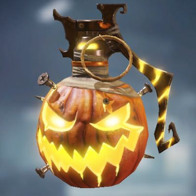 Frag Grenade Skin: Pumpkin Head in Call of Duty Mobile - zilliongamer