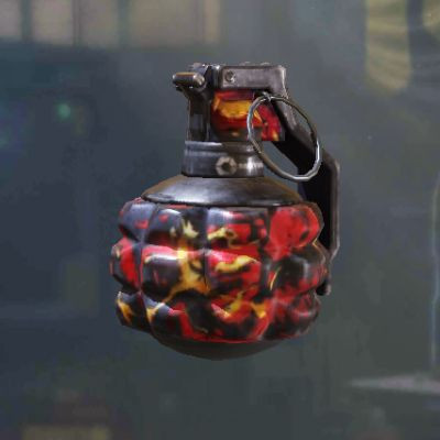 Frag Grenade Skin: Red Dragon in Call of Duty Mobile - zilliongamer