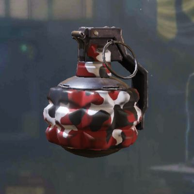 Frag Grenade Skin: Red in Call of Duty Mobile - zilliongamer