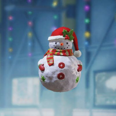 Frag Grenade Skin: Snowman in Call of Duty Mobile - zilliongamer