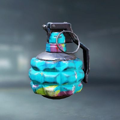 Frag Grenade Skin: Tropical in Call of Duty Mobile - zilliongamer