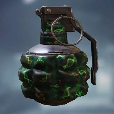 Frag Grenade Skin: Zombie Gene in Call of Duty Mobile - zilliongamer