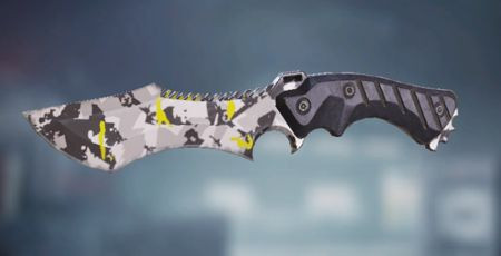 Call of Duty Mobile: Knife: Yellow Snow