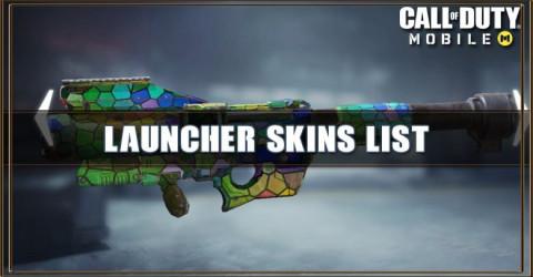 Launcher Skins List