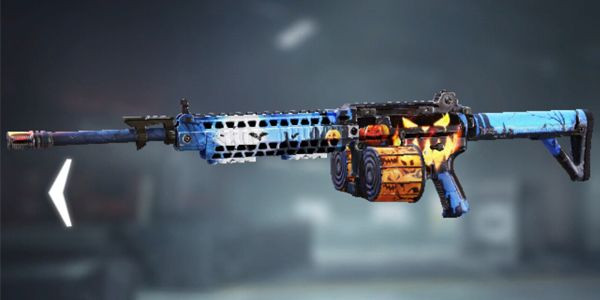 M4LMG skins Halloween in Call of Duty Mobile - zilliongamer