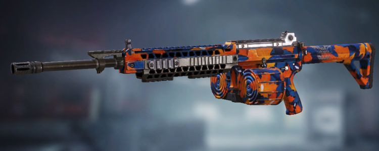 M4LMG skins Maple Leaves in Call of Duty Mobile - zilliongamer