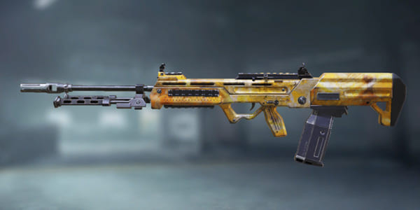 COD Mobile S36 Yellow Abstract skin - zilliongamer
